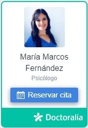 Reservar Cita en Doctoralia con la Psicóloga Maria Marcos