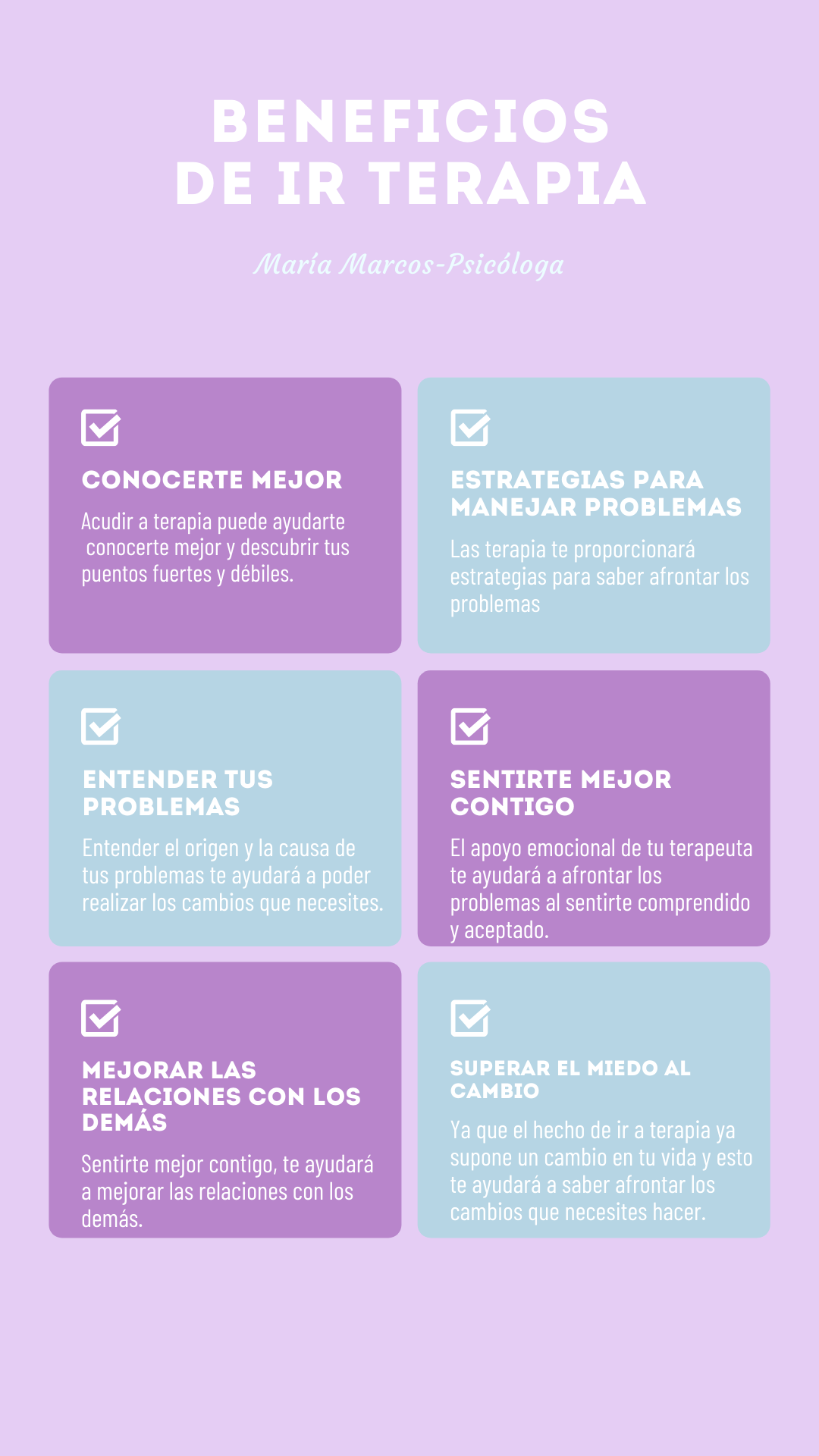 infografia beneficios terapia